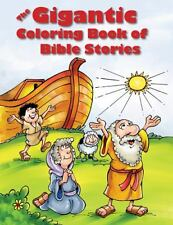 The Gigantic Coloring Book of Bible Stories  Paperback