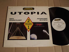 UTOPIA - OOPS! WRONG PLANET / ADVENTURES IN UTOPIA - 2 GREAT ALBUMS - 2 LP