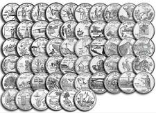 "1999-2009 State Quarters + Territories Complete 56 Coin Set Uncirculated ""D"""