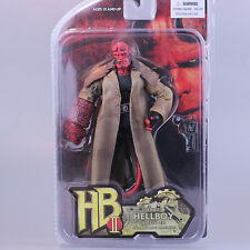 HB SERIES 2 WOUNDED HELLBOY ACTION FIGURES STATUE MODEL COLLECTOR FIGURINES TOY