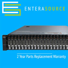 DELL POWEREDGE R720XD 2X E5-2670 2.6GHZ 8C 64GB 24X 146GB 15K SAS PERC H710P