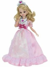 Licca chan Doll pink dress clothes outfit princess ver rare Japan Takara Tomy