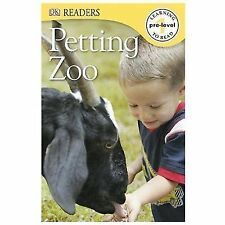 DK Readers L0: Petting Zoo-ExLibrary