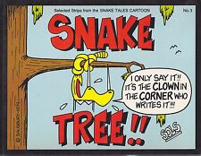 "Snake #3 ""Tree"" 1st Printing, Boomer Books 1979 By Sols"