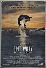 FREE WILLY DS ROLLED ORIG 1SH MOVIE POSTER LORI PETTY MICHAEL IRONSIDE (1993)