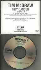 TIM McGRAW Tiny Dancer AC EDIT PROMO DJ CD single ELTON JOHN Remake Cover trk