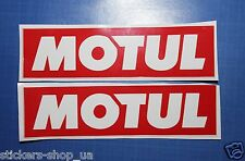 "x2 Motul Сar Vinyl decal sticker 5"" bumber notor oil gtz 350z race rally gp"