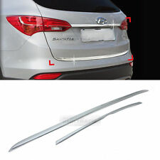 Chrome Trunk Garnish Molding Trim C753 for HYUNDAI 2013-2016 2017 Santa Fe DM
