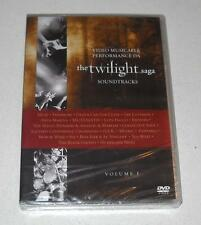 Dvd THE TWILIGHT SAGA SOUNDTRACKS Volume 1 – NUOVO