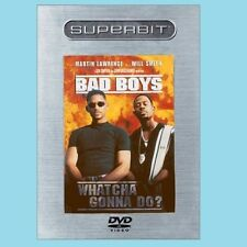 Bad Boys (DVD, 2003, Superbit) The One To Own! Action Packed, Loved, Upgraded !