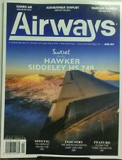 Airways April 2017 Sunset for the Hawker Siddeley HS 748 Pan Am FREE SHIPPING sb