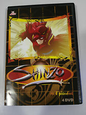 SHINZO MANGA 13 EPISODIOS SPANISH EDITION 4 X DVD 338 MINUTOS UNICO TODO EBAY!!!