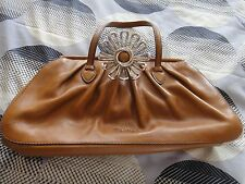 Miu Miu Brown Leather Handbag