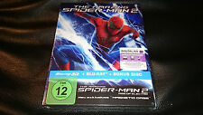 The Amazing Spiderman 3D+2D Blu-Ray Magno Magnetic Case Edition Steelbook Sealed