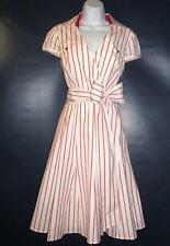 OC by OC Size 12 Oleg Cassini Wrap Shirt Dress Lined New Without Tags