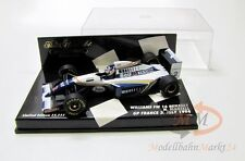 PAUL'S MODEL ART Minichamps Formula Williams FW 16 Renault  Scale 1:43 - OVP