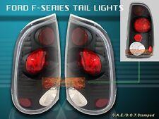 1999-2007 FORD F250 F350 F450 F550 SUPER DUTY BLACK TAIL LIGHTS NEW 04 05 06 07