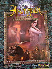 Hawkmoon secrets of tragic europe runequest MGP fantasy RPG roleplaying book
