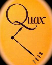 "1948 DRAKE UNIVERSITY YEARBOOK ""Quax"" ~VERY fine condition"