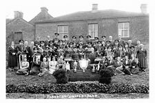 pt4787 - Flockton United Band , Yorkshire - photo 6x4