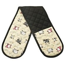 0057.091 Price and Kensington Home Farm Moo Baa Quack Oink Double Oven Glove