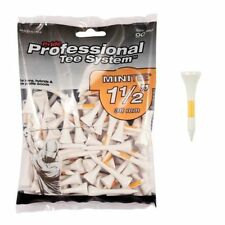 "PRIDE WOODEN GOLF PTS TEES 38MM (1 1/2"") 90 PACK IRONS & HYBRIDS"