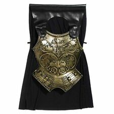 Adults Roman Chest Plate Armour Men's Fancy Dress Up Costume Outfit