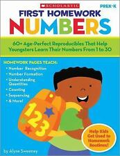 First Homework: Numbers: 60+ Age-Perfect Reproducibles That Help Youngsters Lea