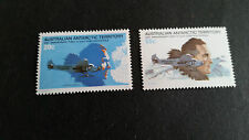 AUSTRALIAN ANTARCTIC TERRITORY 1979 SG 35-36 50TH ANNIV OF FIRST FLIGHT MNH