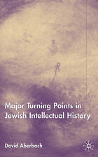 Turning Points in Jewish Intellectual History, Aberbach, David, Very Good Book