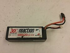 Dynamite Reaction 11.1v 3s 5000mah 3s 30c Hard Case LiPo Battery Pack Traxxas 4x