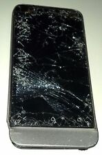 HTC One V 4GB Grey (Carrier Unknown) Smartphone Shattered Glass No Power