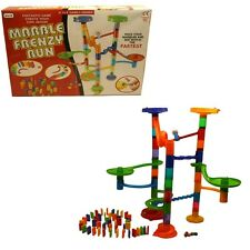 Marble Frenzy Run Game Helter Skelter 86 Piece Create Your Own Marble Race GIFT
