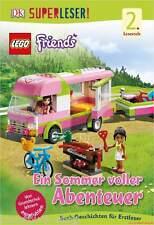 Fachbuch LEGO® Friends, Ein Sommer voller Abenteuer, Lesespaß mit vielen Bildern