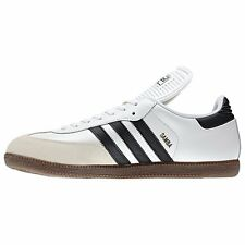 ADIDAS SAMBA CLASSIC LO CANVAS SNEAKERS MEN SHOES WHITE/BLACK 772109 SIZE 12 NEW