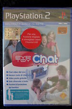 PS2 : EYETOY : CHAT - Nuovo, sigillato, ITA ! Chat video dal vivo gratuita !