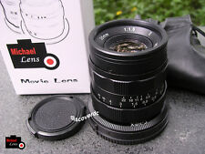 35mm F1.6 II MF Prime Lens for SONY NEX E mount NEX-3 NEX-5 NEX-6 7 A5100 A6000