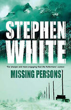 Stephen White Missing Persons Very Good Book