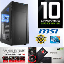Gamer PC Intel I7 7700 4x4,20Ghz-32GB-Nvidia GTX1070 8GB GamingX 8G-SSD-Win10