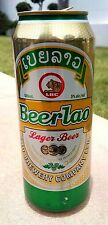 COLLECTIBLE BEER LAO CAN EMPTY 500 ML WORLDWIDE SHIPPING