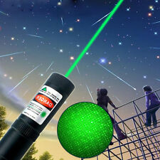 Military Powerful 10Miles 532nm Green Laser Pointer Pen Visible Beam Star Cap US