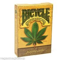 Hemp Deck Bicycle Playing Cards Poker Size USPCC Custom Limited Edition Sealed