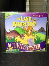 The Land Before Time Activity Center MATH Adventure PC '98 Windows 95/MAC 2 disc