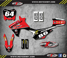 Full Custom Graphic Kit Honda CRF 110 2013 - 2016 model - PYRO style stickers