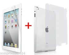 Screen Protector + Retro Anti Riflesso Graffio Pellicola per iPad 2 3 4