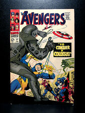 COMICS: Marvel: Avengers #37 (1967), Black Widow app, Ixar's origin -RARE (thor)