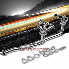 Racing Sport Manifold Exhaust Header For Nissan 95-99 Maxima 3.0L V6 GLE SE GXE