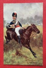 CPA. Illustrateur ROWLANDSON. Light Dragoon, 1800. Despatches ...Enemy's Country