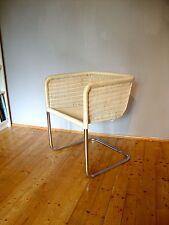 TECTA D43 Designklassiker Stuhl /Sessel weiß Design Freischwinger – Bauhaus 70er
