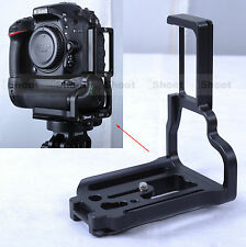 Vertical Quick Release Plate Camera Holder Bracket for Nikon D7100 Battery Grip